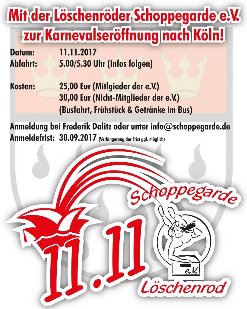 Köln 11.11.2017